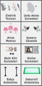 Uydu Servisi, Elektrik Tesisat Ustası, Çanak Anten Kurulumu